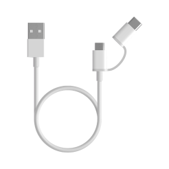 Mi 2-in-1 USB Cable Micro USB to Type C