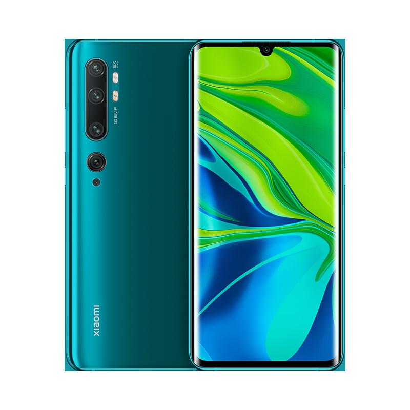 Mi Note 10 Зеленый 6 ГБ + 128 ГБ
