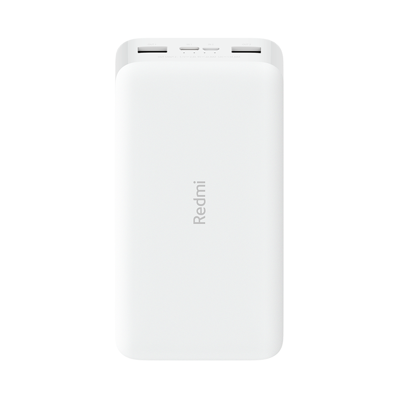 20000mAh Redmi 18W Fast Charge Power Bank (White)